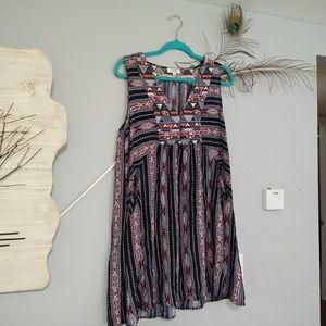 Umgee tribal boho dress with pockets